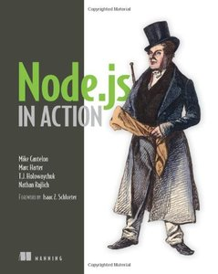 Node.js in Action (Paperback)-cover