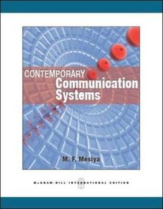 Contemporary Communication Systems (IE-Paperack)-cover