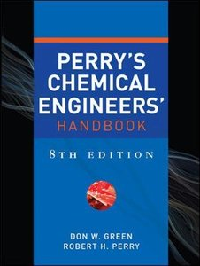 Perry's Chemical Engineers' Handbook, 8/e (Hardcover)-cover