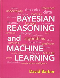 Bayesian Reasoning and Machine Learning (Hardcover)-cover