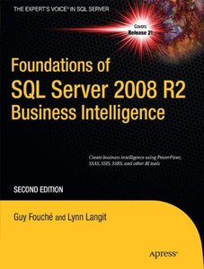 Foundations of SQL Server 2008 R2 Business Intelligence, 2/e (Paperback)-cover