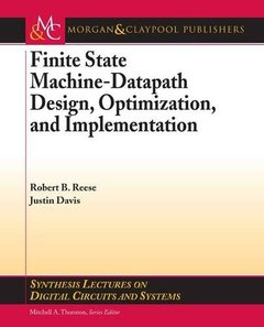 Finite State Machine Datapath Design, Optimization, and Implementation (Paperback)-cover