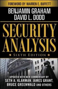 Security Analysis, 6/e : Foreword by Warren Buffett (Hardcover)-cover