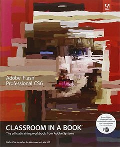 Adobe Flash Professional CS6 Classroom in a Book (Paperback)-cover