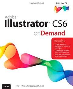 Adobe Illustrator CS6 on Demand, 2/e (Paperback)-cover
