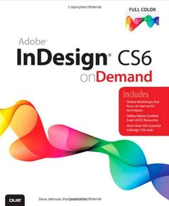 Adobe InDesign CS6 on Demand, 2/e (Paperback)-cover