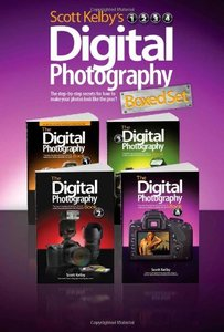 Scott Kelby's Digital Photography Boxed Set, Parts 1, 2, 3, and 4 (Paperback)-cover