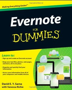Evernote For Dummies (Paperback)-cover