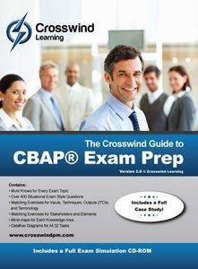 The Crosswind Guide to CBAP Exam Prep: Includes Exam Simulation Application, 2/e (Paperback)-cover