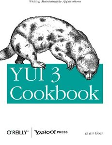 YUI 3 Cookbook (Paperback)-cover