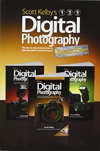 Scott Kelby's Digital Photography Boxed Set, Volumes 1, 2, and 3-cover