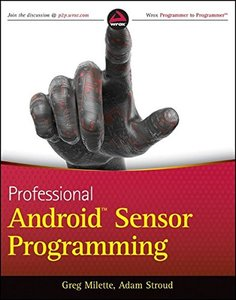 Professional Android Sensor Programming (Paperback)-cover