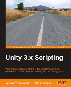 Unity 3.x Scripting (Paperback)-cover
