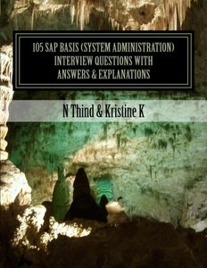 105 SAP Basis (System Administration) Interview Questions with Answers & Explanations-cover