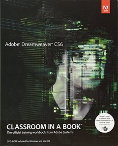 Adobe Dreamweaver CS6 Classroom in a Book (Paperback)-cover