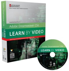 Adobe Dreamweaver CS6: Learn by Video: Core Training in Web Communication (DVD-ROM)-cover