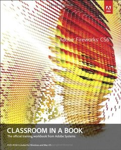 Adobe Fireworks CS6 Classroom in a Book (Paperback)-cover