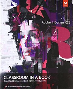 Adobe InDesign CS6 Classroom in a Book (Paperback)-cover