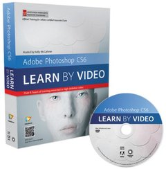 Adobe Photoshop CS6: Learn by Video: Core Training in Visual Communication (DVD-ROM)-cover