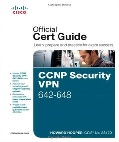 CCNP Security VPN 642-648 Official Cert Guide, 2/e (Hardcover)-cover