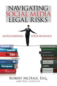 Navigating Social Media Legal Risks: Safeguarding Your Business (Paperback)-cover