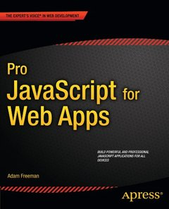 Pro JavaScript for Web Apps (Paperback)-cover