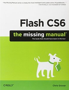 Flash CS6: The Missing Manual (Paperback)-cover