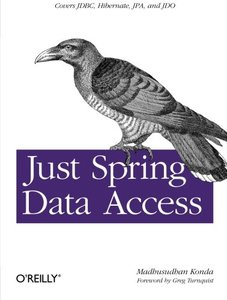 Just Spring Data Access (Paperback)-cover