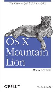 OS X Mountain Lion Pocket Guide (Paperback)-cover