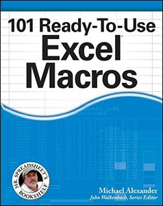 101 Ready-To-Use Excel Macros (Paperback)-cover