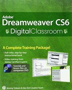 Adobe Dreamweaver CS6 Digital Classroom (Paperback)-cover
