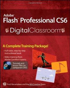 Adobe Flash Professional CS6 Digital Classroom (Paperback)-cover
