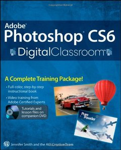 Adobe Photoshop CS6 Digital Classroom (Paperback)-cover