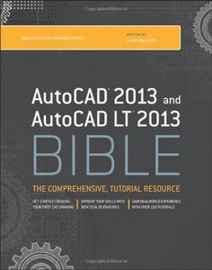AutoCAD 2013 and AutoCAD LT 2013 Bible (Paperback)-cover