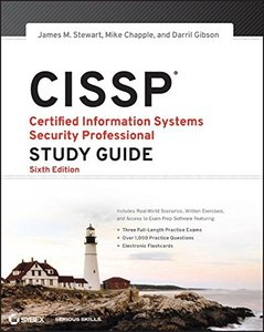 CISSP: Certified Information Systems Security Professional Study Guide, 6/e (Paperback)-cover