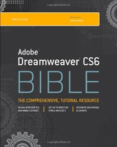 Dreamweaver CS6 Bible (Paperback)-cover