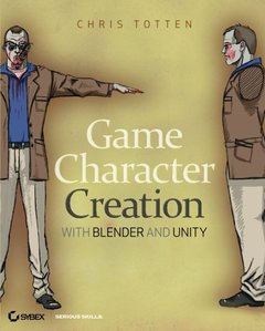 Game Character Creation with Blender and Unity (Paperback)-cover