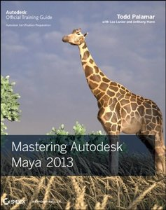 Mastering Autodesk Maya 2013 (Paperback)-cover