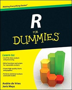 R For Dummies, 2/e (Paperback)-cover