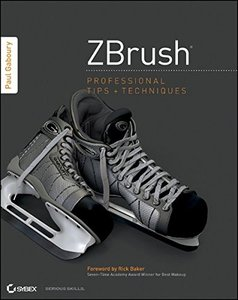 ZBrush Professional Tips and Techniques (Paperback)-cover