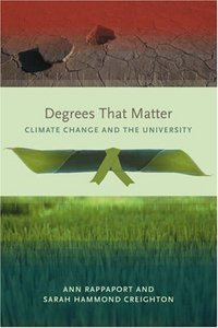 Degrees That Matter: Climate Change and the University (Paperback)-cover