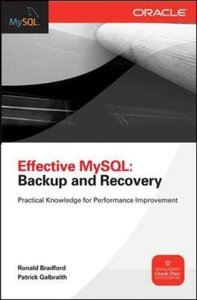 Effective MySQL Backup and Recovery (Paperback)-cover