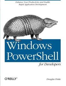 Windows PowerShell for Developers (Paperback)-cover