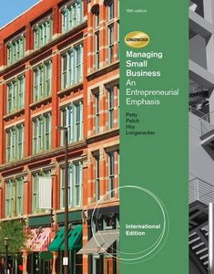 Managing Small Business : An Entrepreneurial Emphasis, 16/e  (IE-Paperback)