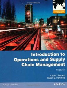 Introduction to Operations and Supply Chain Management, 3/e (IE-Paperback)-cover