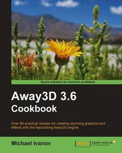 Away3D 3.6 Cookbook (Paperback)-cover
