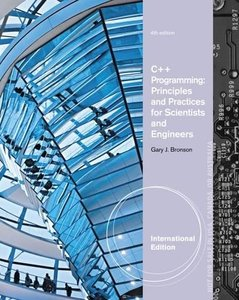 C++ Programming : Principles and Practices for Scientists & Engineers, 4/e (IE-Paperback)-cover