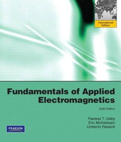 Fundamentals of Applied Electromagnetics, 6/e (IE-Paperback)-cover