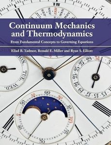 Continuum Mechanics and Thermodynamics: From Fundamental Concepts to Governing Equations (Hardcover)-cover