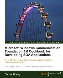 Microsoft Windows Communication Foundation 4.0 Cookbook for Developing SOA Applications (Paperback)-cover